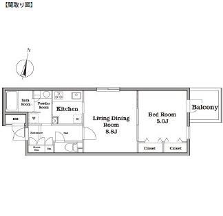 レジディア西新宿Ⅱ119号室