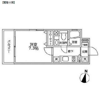レジディア西新宿Ⅱ202号室