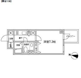 レジディア西新宿Ⅱ211号室