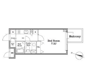 レジディア西新宿Ⅱ214号室