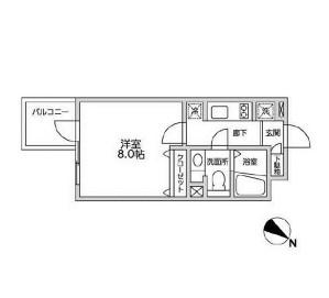 レジディア西新宿Ⅱ306号室