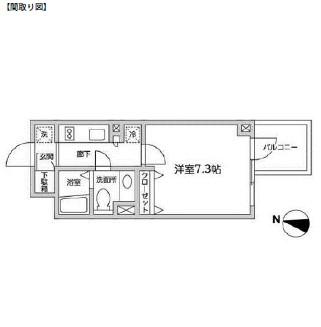 レジディア西新宿Ⅱ312号室