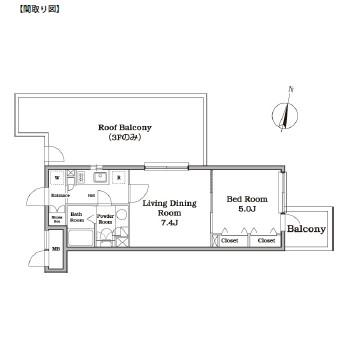 レジディア西新宿Ⅱ317号室
