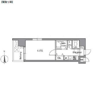 レジディア神楽坂1101号室