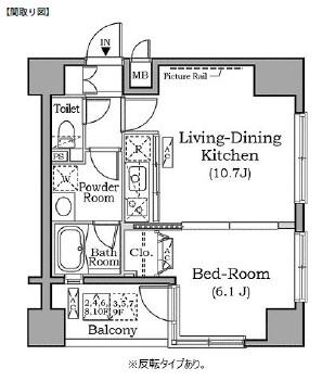 レジディア広尾南202号室