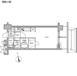 レジディア大井町Ⅱ503号室