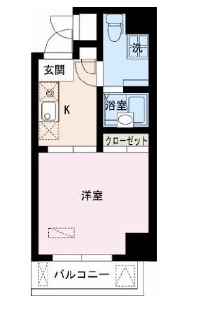 レジディア大井町1201号室