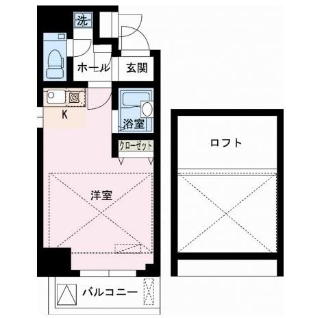 レジディア大井町1304号室