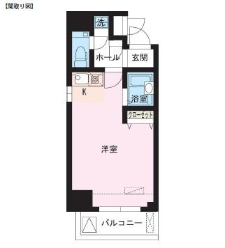 レジディア大井町302号室