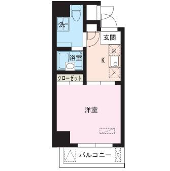 レジディア大井町802号室