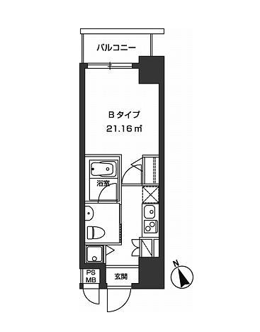 レジディア虎ノ門1404号室