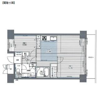 レジディア芝浦1105号室