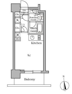 レジディア三軒茶屋803号室