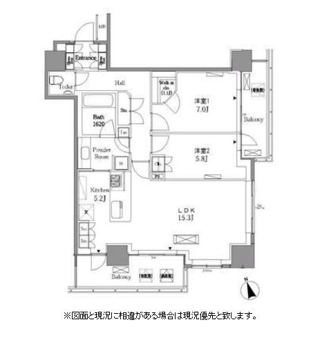 レジディアタワー目黒不動前1209号室