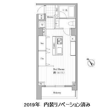 エルスタンザ赤坂202号室
