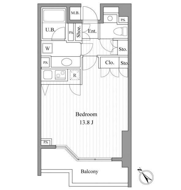 エルスタンザ赤坂304号室