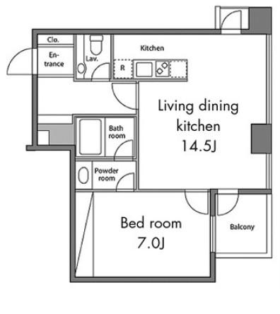 レジディアタワー麻布十番1105号室