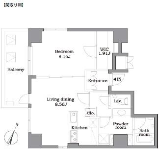 レジディア東麻布803号室