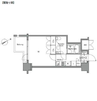 レジディア麻布台1002号室