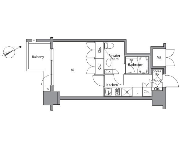レジディア麻布台202号室
