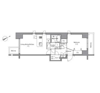 レジディア麻布台401号室