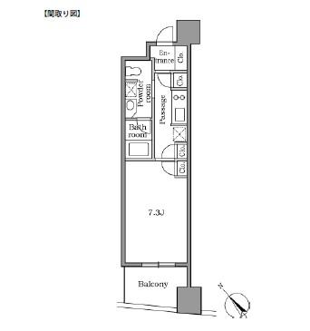 レジディア恵比寿Ⅱ903号室