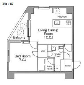 レジディア恵比寿南206号室
