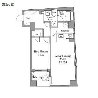 レジディア恵比寿南305号室