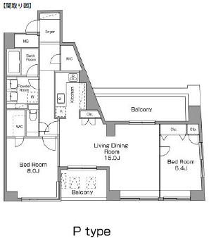 レジディア恵比寿南603号室