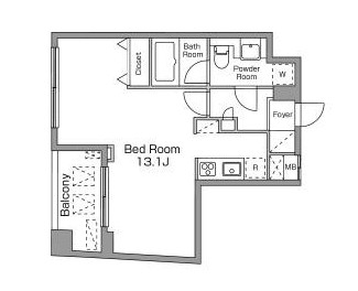 レジディア恵比寿南604号室