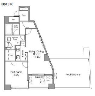 レジディア恵比寿南703号室