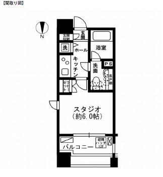 レジディア市ヶ谷501号室