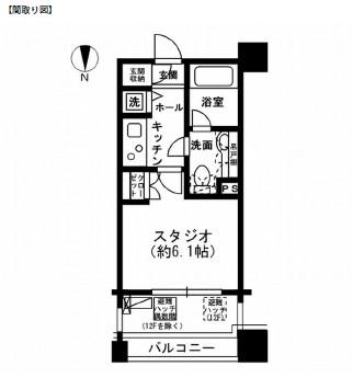レジディア市ヶ谷902号室