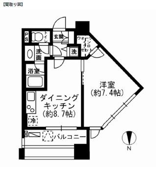 レジディア市ヶ谷904号室
