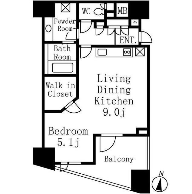 シティハウス代々木809号室