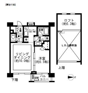 レジディア新宿イーストⅡ1002号室