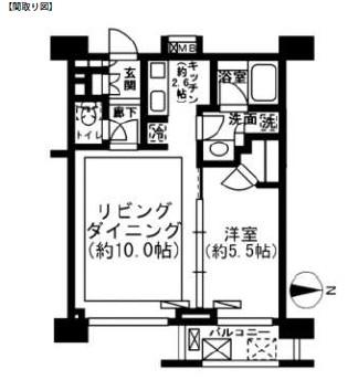 レジディア新宿イーストⅡ902号室