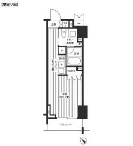 レジディア渋谷1102号室
