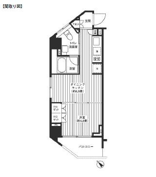 レジディア渋谷401号室