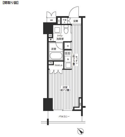 レジディア渋谷403号室