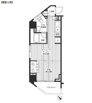 レジディア渋谷501号室