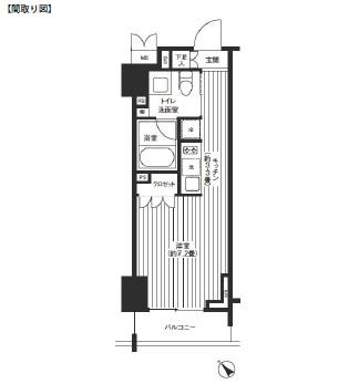 レジディア渋谷503号室