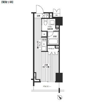 レジディア渋谷602号室