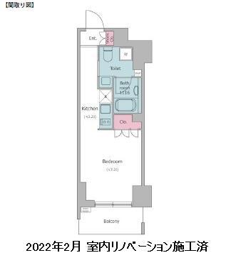 レジディア渋谷802号室