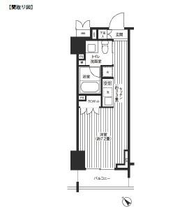 レジディア渋谷803号室