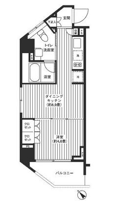 レジディア渋谷901号室
