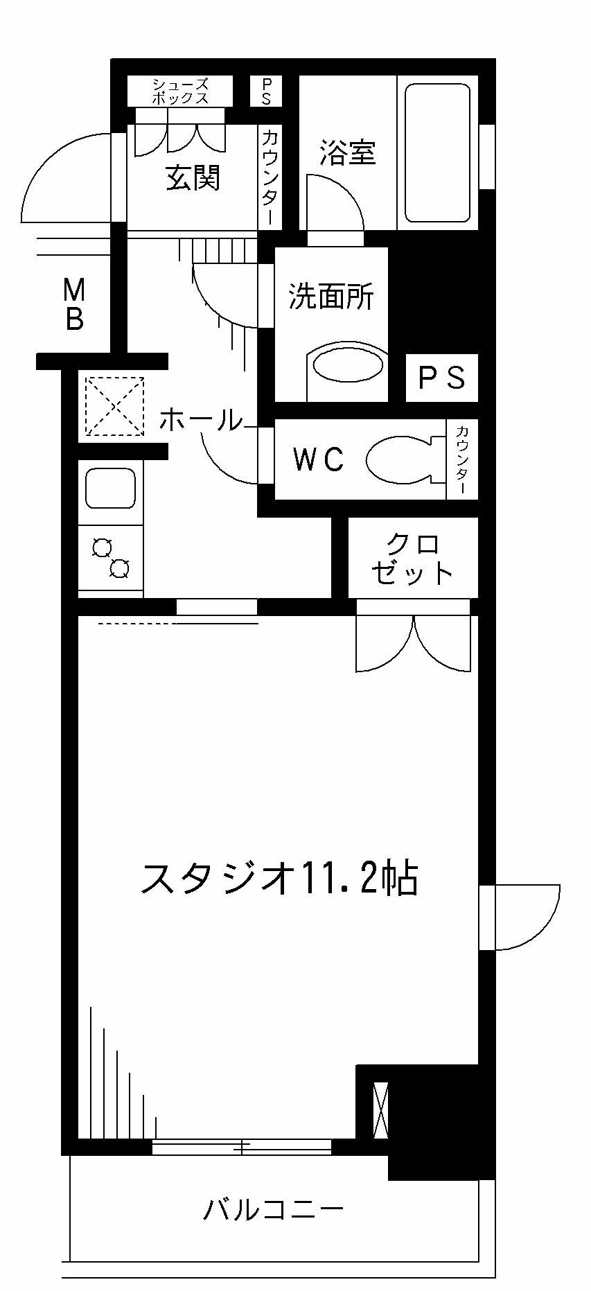 レジディア九段下501号室
