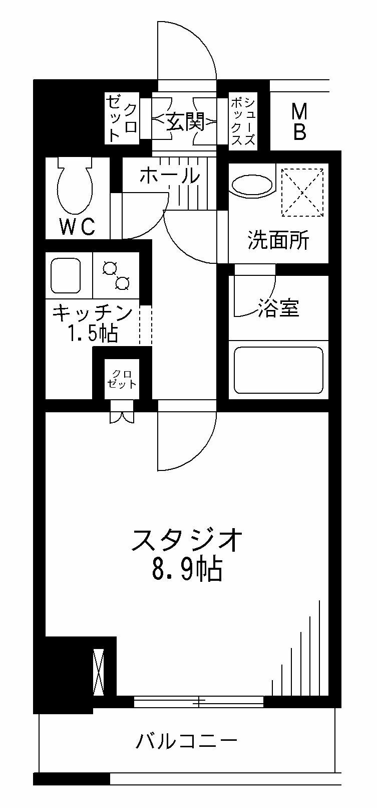 レジディア九段下602号室