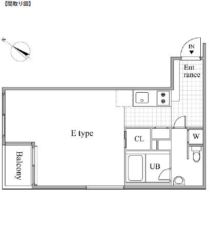 レジディア目黒Ⅱ203号室