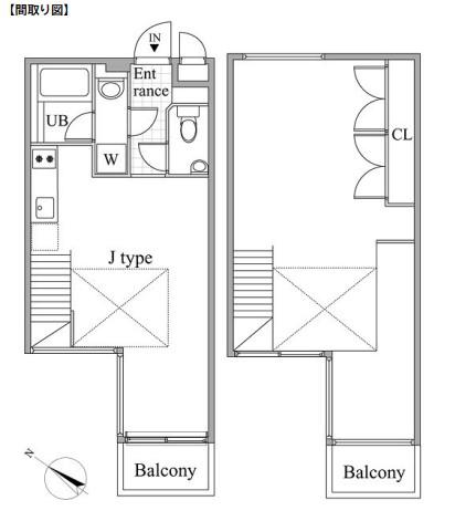 レジディア目黒Ⅱ405号室